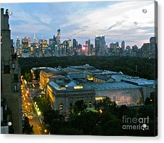Looking South Nyc Acrylic Print by Randi Shenkman