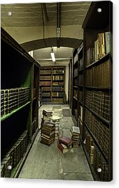Loose Books Acrylic Print by Dave Wood