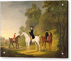 Lord Bulkeley And His Harriers Acrylic Print by Francis Sartorius