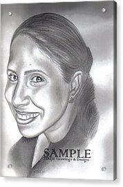 Lorna Villanueva Acrylic Print by Rick Hill