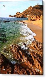 Los Cabos Coastal Landscape Acrylic Print by Roupen  Baker