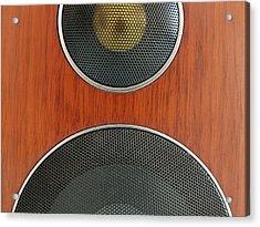 Loudspeaker Acrylic Print by Luigi Masella