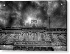 Loughborough Town Hall Acrylic Print by Yhun Suarez