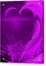 Love . A120423.279 Acrylic Print by Wingsdomain Art and Photography