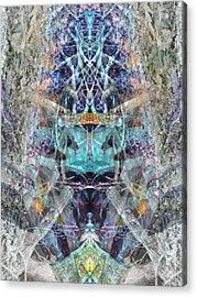 Lovefest Acrylic Print by Lynzi Wildheart