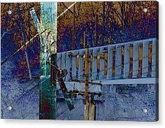 Loveland Bridge Acrylic Print by Robert Glover