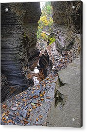 Low Water Acrylic Print by Joshua House
