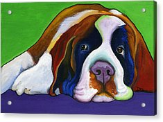 Lucy Acrylic Print by Debbie Brown