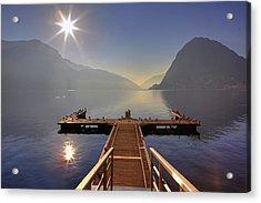 Lugano Acrylic Print by Joana Kruse