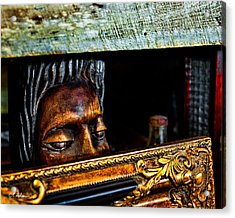 Lurking Acrylic Print by Christopher Holmes