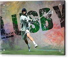 Lusby Lacrosse Acrylic Print by Scott Melby