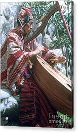 Lute Player Acrylic Print by Photo Researchers, Inc.