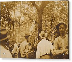 Lynching Of Leo Frank 1884-1915 Acrylic Print by Everett