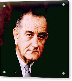 Lyndon B. Johnson 1908-1972, U.s Acrylic Print by Everett
