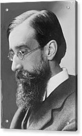 Lytton Strachey 1880-1932 English Acrylic Print by Everett