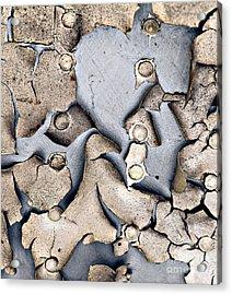 M O L T I N G Acrylic Print by Charles Dobbs