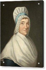 Madame Gabriel Cotte Acrylic Print by Louis Cretien de Heer