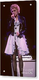 Madonna 1987 B Acrylic Print by David Plastik