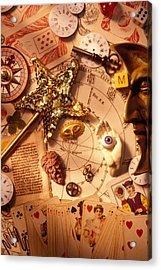 Magic And Mysticism  Acrylic Print by Garry Gay