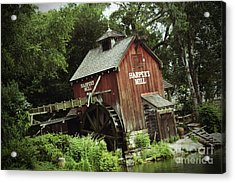Magic Kingdom - Harper's Mill Acrylic Print by AK Photography