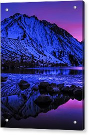Magical Sunset Over Mount Morrison And Convict Lake Acrylic Print by Scott McGuire
