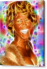 Magical Whitney Acrylic Print by Paul Van Scott