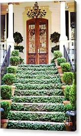 Magnolia Hall Savannah Georgia Acrylic Print by Kim Fearheiley