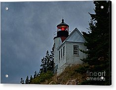 Maine Lighthouse Acrylic Print by John Greim