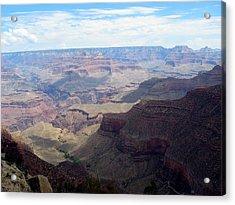 Majestic Grand Canyon Acrylic Print by Mitch Hino