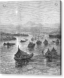 Malaya: Perak River, 1876 Acrylic Print by Granger