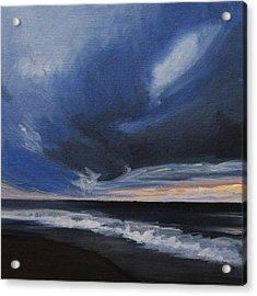 Malibu Sunset Acrylic Print by Cristin Paige
