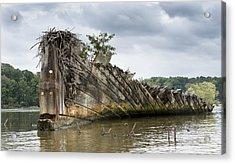 Mallows Bay Ship Graveyard - Maryland Acrylic Print by Brendan Reals