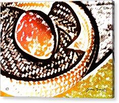 Mango Acrylic Print by James Temple