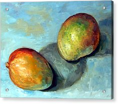 Mango's Acrylic Print by Mark Hartung