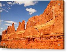 Manhatten In Utah Acrylic Print by Jeff Swan