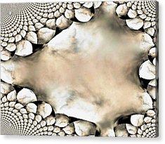 Marble Abstract Acrylic Print by Maria Urso