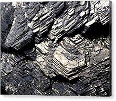Marcasite Mineral Acrylic Print by Dirk Wiersma
