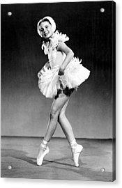 Margaret Obrien, Ca. 1940s Acrylic Print by Everett
