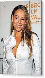 Mariah Carey At Arrivals For Tennessee Acrylic Print by Everett