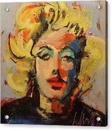 Marilyn Acrylic Print by Les Leffingwell