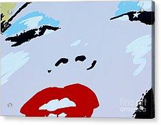 Marilyn Monroe 1 Acrylic Print by Micah May