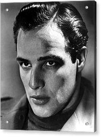 Marlon Brando, 1950s Acrylic Print by Everett