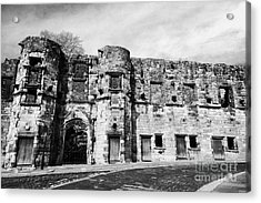 Mar's Wark In The Historic Old Town Of Stirling Scotland Uk Acrylic Print by Joe Fox
