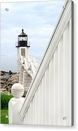 Marshall Point Acrylic Print by Darren Fisher
