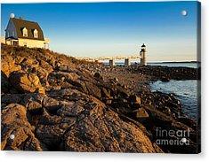 Marshall Point Lighthouse Acrylic Print by Brian Jannsen