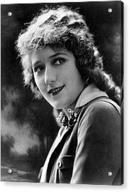 Mary Pickford, Ca. 1920s Acrylic Print by Everett