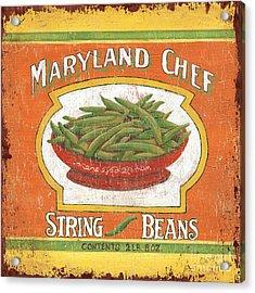 Maryland Chef Beans Acrylic Print by Debbie DeWitt
