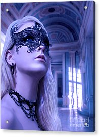 Masquerade Ball  Acrylic Print by Eugene James