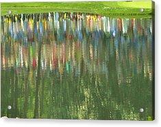 Master Reflection Acrylic Print by Sharon Farris