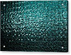 Matrix Acrylic Print by Leigh Meredith